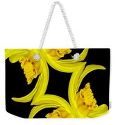 Delightful Daffodil Abstract Weekender Tote Bag