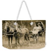 Delivering The Mail 1907 Weekender Tote Bag