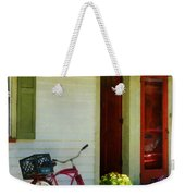 Delivery Bicycle By Two Red Doors Weekender Tote Bag
