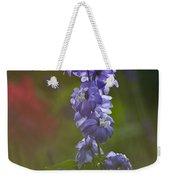 Delphinium Blossom Weekender Tote Bag