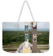 Delta II Launch With Space Telescope Weekender Tote Bag