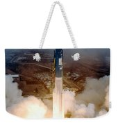 Delta II Rocket Taking Off Weekender Tote Bag