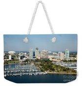 Demens Landing St Petersburg Weekender Tote Bag