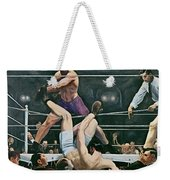 Dempsey V Firpo In New York City Weekender Tote Bag