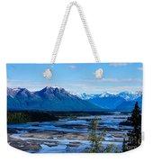 Denali Mountain Range Weekender Tote Bag