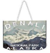 Denali Postage Stamp  Weekender Tote Bag