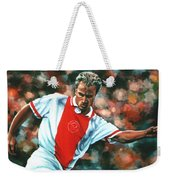 Dennis Bergkamp 2 Weekender Tote Bag by Paul Meijering