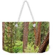 Dense Forest View Weekender Tote Bag