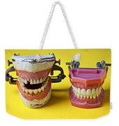 Dental Models Weekender Tote Bag by Garry Gay