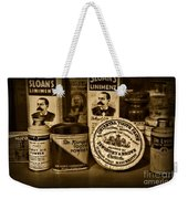 Dentist  -  Tooth Powder And More In Black And White Weekender Tote Bag