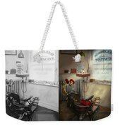 Dentist - S.b. Johnston Dentist 1919 - Side By Side Weekender Tote Bag
