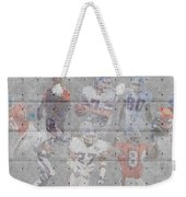 Denver Broncos Legends Weekender Tote Bag