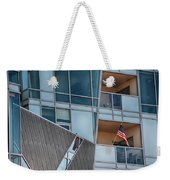 Denver Diagonal Lines Weekender Tote Bag