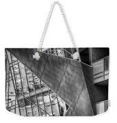 Denver Diagonals Bw Weekender Tote Bag