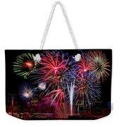 Denver Fireworks Finale Weekender Tote Bag