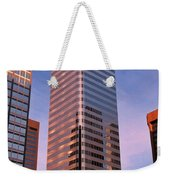 Denver Skyscraper Weekender Tote Bag