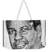 Denzel Washington In 2009 Weekender Tote Bag by J McCombie
