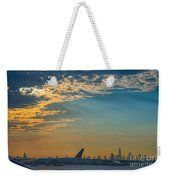 Departing From Ewr  Weekender Tote Bag