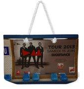 Depech Mode Tour Weekender Tote Bag