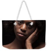 Chynna African American Nude Girl In Sexy Sensual Photograph And In Color 4787.02 Weekender Tote Bag