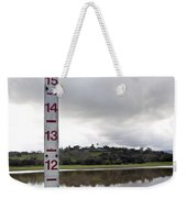 Depth Measuring Stick Lake Lagunita Stanford University Weekender Tote Bag