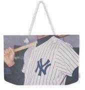 Derek Jeter New York Yankees Weekender Tote Bag