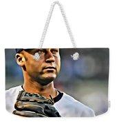 Derek Jeter Portrait Weekender Tote Bag