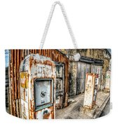 Derelict Gas Station Weekender Tote Bag by Adrian Evans