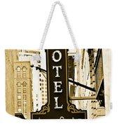 Art Hotel Weekender Tote Bag