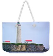Des-rosiers Lighthouse Is Canada's Tallest In Forillon Np-qc Weekender Tote Bag