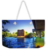 Deschutes Bridge  Anderson Ca  Watercolor   Weekender Tote Bag