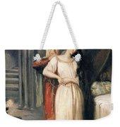 Desdemona Weekender Tote Bag by Theodore Chasseriau