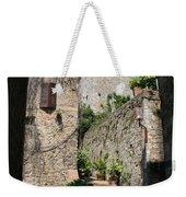 Desert Alley In San Gimignano Weekender Tote Bag