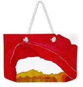 Desert Arch Original Painting Sold Weekender Tote Bag