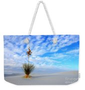 Desert Beauty White Sands New Mexico Weekender Tote Bag