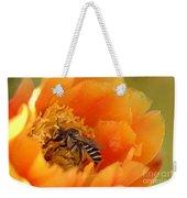 Desert Bee Weekender Tote Bag