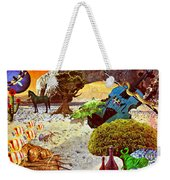 Desert Blues Weekender Tote Bag