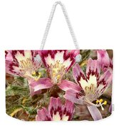 Desert Calico Wildflowers Weekender Tote Bag