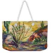 Desert Color Weekender Tote Bag