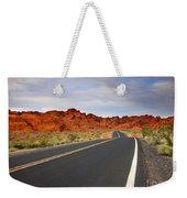 Desert Highway Weekender Tote Bag