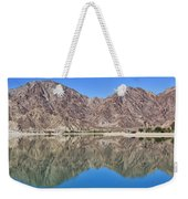 Desert Lake Stillness Weekender Tote Bag