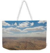 Desert Landscape By The Tannur Dam Weekender Tote Bag