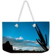Desert Landscape Silhouette Weekender Tote Bag