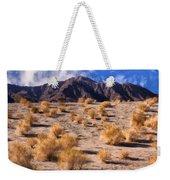 Desert Light And Shadow Weekender Tote Bag