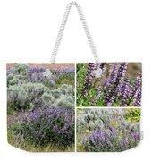 Desert Lupine Collage Weekender Tote Bag