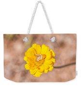 Desert-marigold Moth Weekender Tote Bag