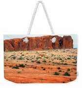 Desert Monolith Weekender Tote Bag