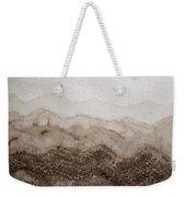 Desert Mountain Mist Original Painting Weekender Tote Bag