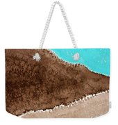 Desert Mountains Original Painting Weekender Tote Bag