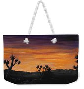 Desert Night Weekender Tote Bag